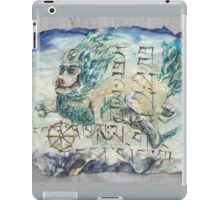 Snow Lion  iPad Case/Skin