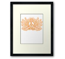 Let There Be Peace Framed Print