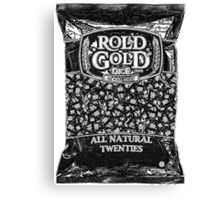 ROLLED GOLD D20 Canvas Print