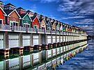 Rainbow Row by Joseph T. Meirose IV