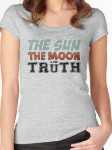 The Sun, The Moon, The Truth Women's Fitted Scoop T-Shirt