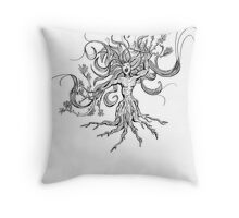 As the Earth Screams Throw Pillow