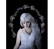 Moon girl child beauty Photographic Print