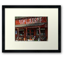 This is my hometown.. Framed Print