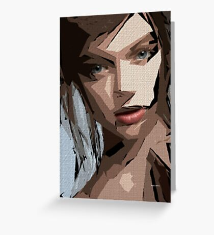 Female Expressions 596 Greeting Card