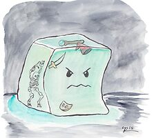 Beware The Angry Gelatinous Cube by creyer