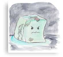 Beware The Angry Gelatinous Cube Canvas Print