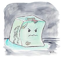 Beware The Angry Gelatinous Cube Photographic Print