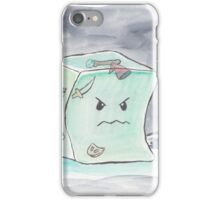 Beware The Angry Gelatinous Cube iPhone Case/Skin