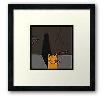 BATCAT Framed Print