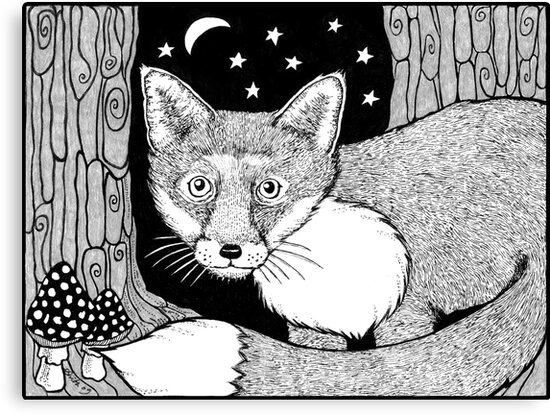 Wee Foxy by Anita Inverarity