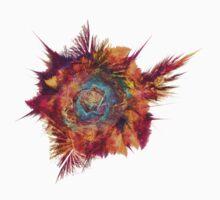 Flower Power Fractal Art Baby Tee