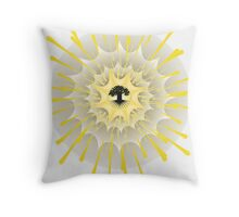The Fountain - The Tree of Life Throw Pillow