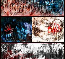 Secret Triptych by Aimee Cozza