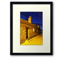 Gassin by Night on the French Riviera Framed Print