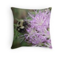 Bumbling Along Throw Pillow