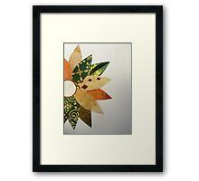 Paper Flower's A Framed Print