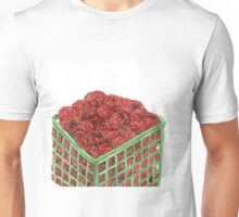 Ripe Red Radberries 7 Unisex T-Shirt