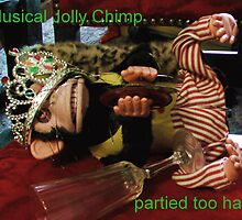 Musical Jolly Chimp Partied Too Hard (text) by Margaret Bryant