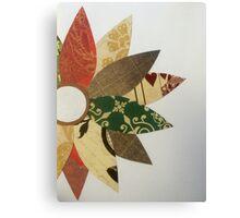 Paper Flowers B Canvas Print