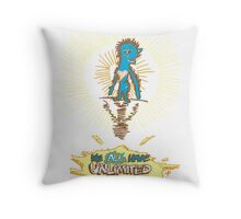 We all have Unlimited Power Throw Pillow