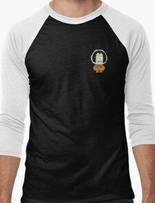Flat Cartoon Jeb Kerman Men's Baseball ¾ T-Shirt