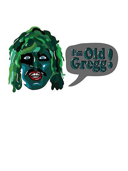 The Mighty Boosh - I'm Old Gregg by bleedart