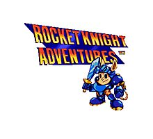 Rocket Knight Adventures (big print) Photographic Print