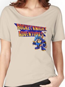 Rocket Knight Adventures (big print) Women's Relaxed Fit T-Shirt