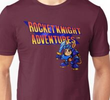 Rocket Knight Adventures (big print) Unisex T-Shirt