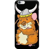 The Mighty Viking Hamster iPhone Case/Skin