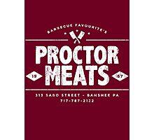 Proctor Meats (worn look) Photographic Print
