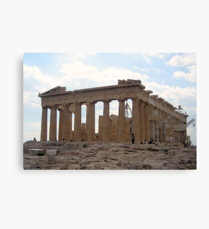 Parthenon-East End Canvas Print