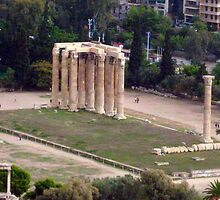 Temple of Zeus by ciaobella2u
