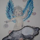 Angel Wings of Blue by eoconnor