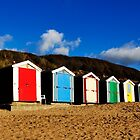 Beach Huts by milesphotos