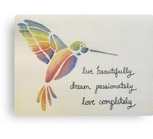 Live, Dream, Love Canvas Print