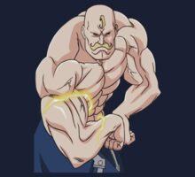 fullmetal alchemist alex louis armstrong anime manga shirt by ToDum2Lov3