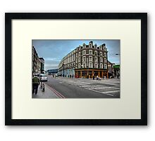 Southwark Tavern: Southwark Street, London. UK Framed Print