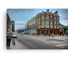 Southwark Tavern: Southwark Street, London. UK Canvas Print