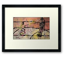Out of Body Experience Framed Print