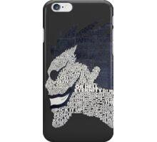 Death Note - Ryuk - Typography  iPhone Case/Skin