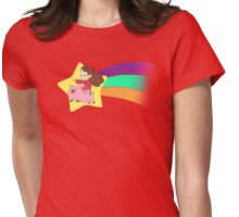 Mabel & Waddles Shooting Star Womens Fitted T-Shirt
