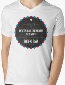 Reform The Tax Code Mens V-Neck T-Shirt