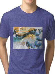 Old Piano Blues Tri-blend T-Shirt
