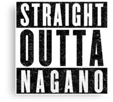 Nagano Represent! Canvas Print