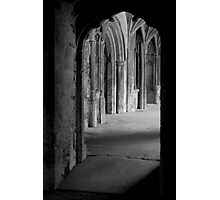 Abbey cloisters Photographic Print