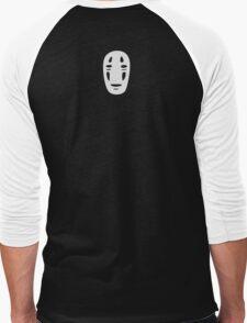 No Face - Small Men's Baseball ¾ T-Shirt