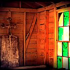 Stain Glass Window in an Old Church by HeavenlyCanvas