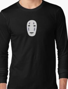 No Face - Two Colour Long Sleeve T-Shirt